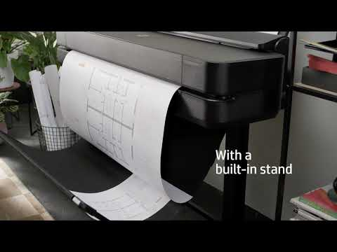 Designjet Showcase: HP DesignJet T250 & T650 Printer