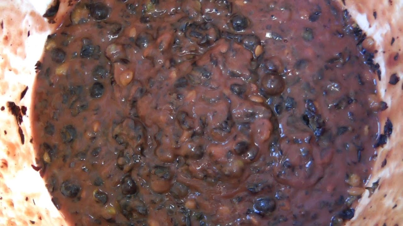 Preparing the fruit mash for home distillation - YouTube