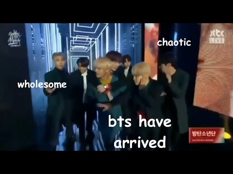 funny and wholesome bts group moments