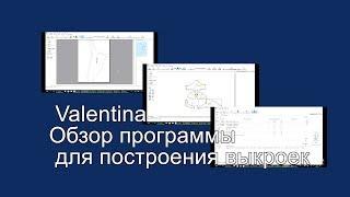 Valentina. Обзор программы для построения выкроек.