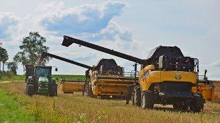Wielkie Żniwa 2017 na Mazurach w Gospodarstwie Rolnym Pergoł! ㋡