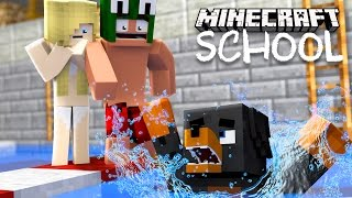 Minecraft School - THE BIG SWIMMING COMPETITION!