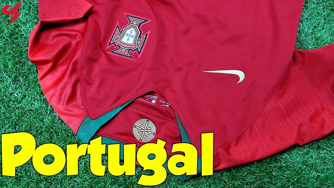 World Cup 2018 Nike Home Portugal Soccer Jersey Unboxing + Review ... b678bb8d8