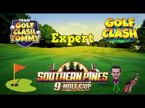 Golf Clash tips, Playthrough, Hole 1-9 - EXPERT - TOURNAMENT WIND! Southern Pines 9 Hole Cup!