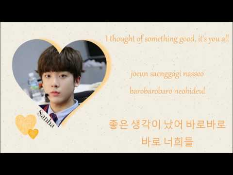 ASTRO- You and Me (Color Coded Lyrics~ Eng/Rom/Han)