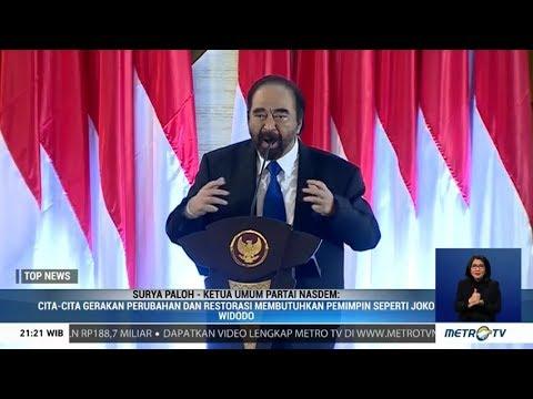 Surya Paloh Komitmen Bantu Jokowi-Ma'ruf 2019-2024