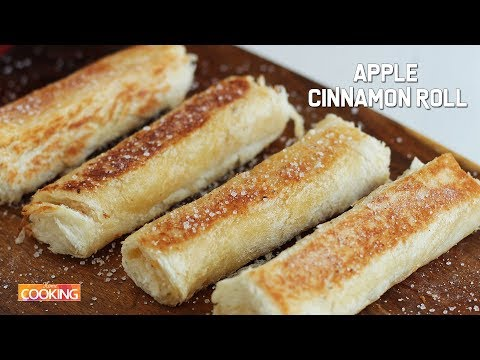 Apple Cinnamon Roll | Apple Bread Roll Recipes