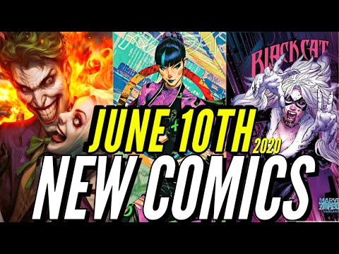 NEW COMIC BOOKS RELEASING JUNE 10th 2020 MARVEL & DC COMICS PREVIEW COMING OUT THIS WEEKS PICKS