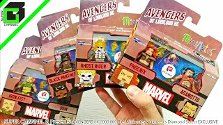 Unboxing AVENGERS of 1,000,000 B.C. Minimates Walgreen's EXCLUSIVE Complete Set Diamond Select Toys