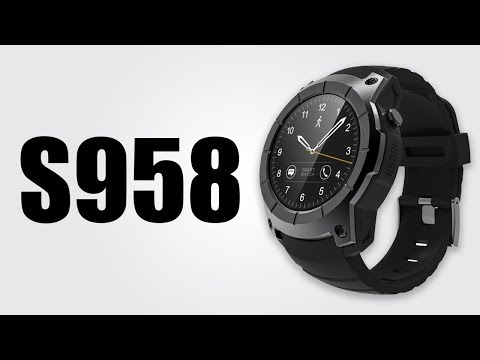 d1db56b6f S958 GPS Smartwatch - 1.3inch / Heart rate monitor / Pedometer / Music play  - YouTube