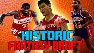 NBA 2K17 | HISTORIC FANTASY DRAFT REBUILD | A HUGE UPSET!