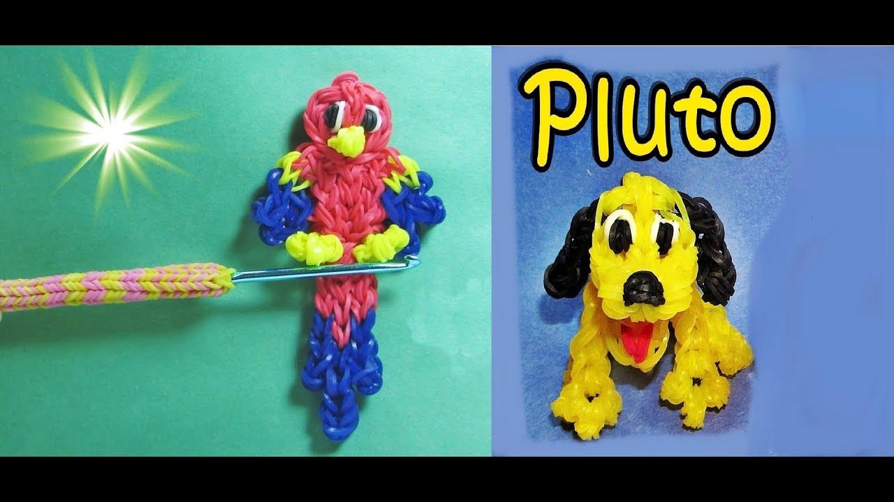 Loom Bandz Anleitung Deutsch Pluto Hund Pinguin Bleistift Topper
