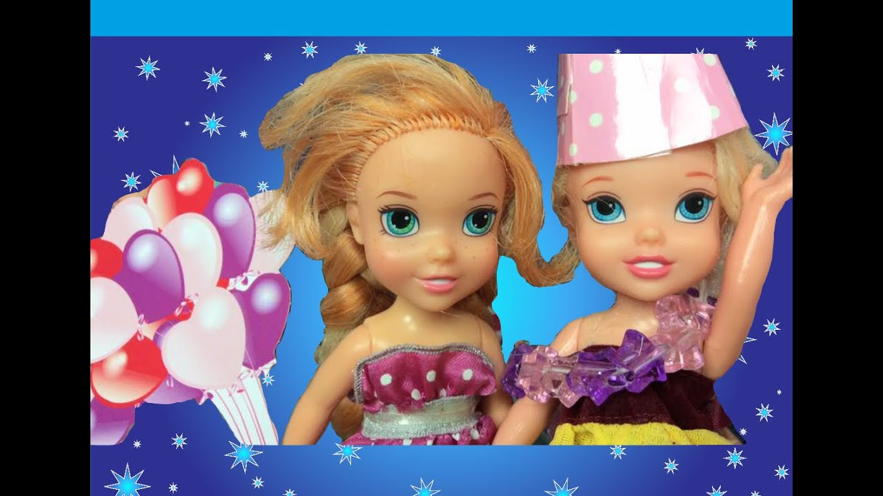 Anna And Elsa Toddlers Sleepover Birthday Party Elsya
