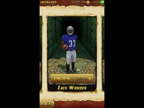 Temple Run 2 with Zack Wonder Character