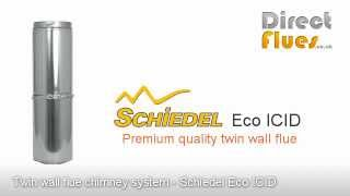 Twin wall flue chimney system - Scheidel Eco ICID