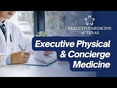 Executive Medicine of Texas - Executive Physical & Concierge Medicine - Health starts at the top!