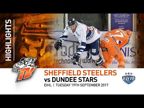 Sheffield Steelers v Dundee Stars - EIHL - 19th September 2017