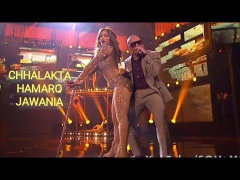 Chhalakata Hamro Jawaniya Bhojpuri Funny Feat. Nicki Minaj,Jennifer Lopez,Pitbull   Swalla  SouMIX