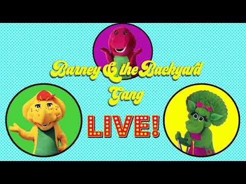 Barney - The Backyard Show (1988) 1992, VHS | FunnyDog.TV