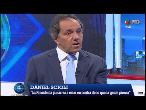 Scioli: ¿Cristina no quiere que gane?