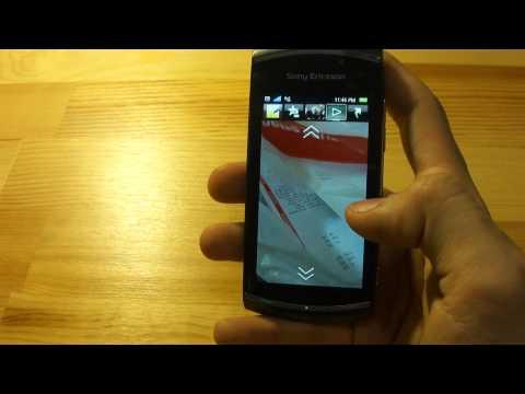 Sony Ericsson Vivaz Pro video review (Fido)