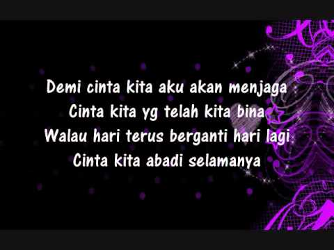 Cinta Kita - Shireen Sungkar ft Teuku Wisnu (lyric)