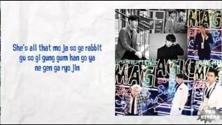 Super Junior - Magic lyrics (easy lyrics)