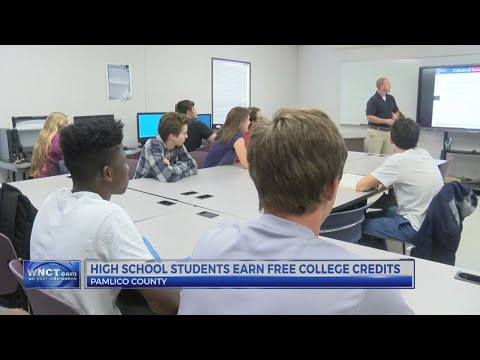 Pamlico Community College offers free classes to high school students