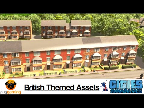 Cities: Skylines - British Theme - Full et List - Downloadable on new york cities maps, europe cities maps, florida cities maps, texas cities maps, usa cities maps,