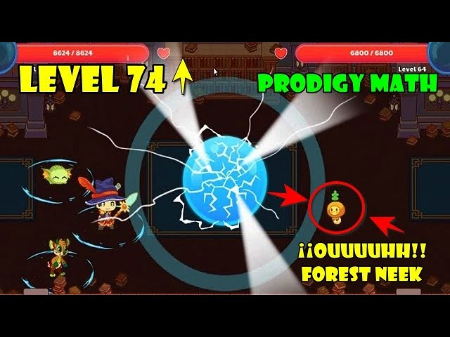 Level 74 Collecting Pages For My New Pet Prodigy Math Game Youtube