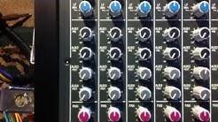 Sound Tutorial - Running the Sound Board
