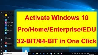 How to Activate any Windows 10 for free using Activator Script | wi9ndows 10
