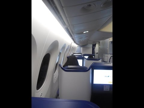 ANA Business B787-900 Dreamliner Sydney-Tokyo Haneda Airport