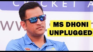 Download 'Captain Cool' MS Dhoni reveals secret behind his coolness on cricket field Mp3 and Videos