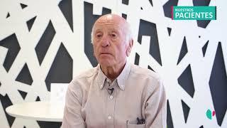 Sabino, paciente del Dr. Marqués intervenido mediante endoscopia de columna a los 82 años