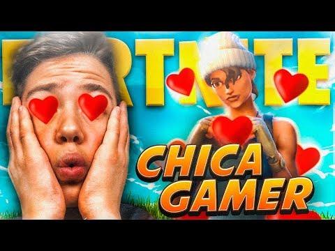 CONOZCO a LA CHICA GAMER MS PRO de FORTNITE