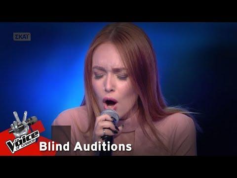Αθηνά Λιανού - Caruso   7o Blind Audition   The Voice of Greece