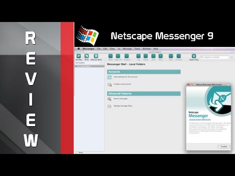 Review Netscape Messenger 9.0 alpha