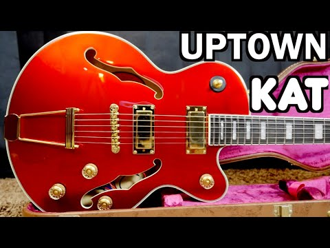 is-the-uptown-kat-worth-it?-|-2020-epiphone-uptown-kat-es-ruby-red-metallic-|-review-demo
