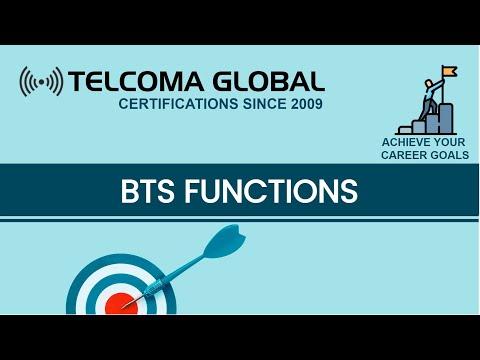 BTS Functions: Base Transceiver Station