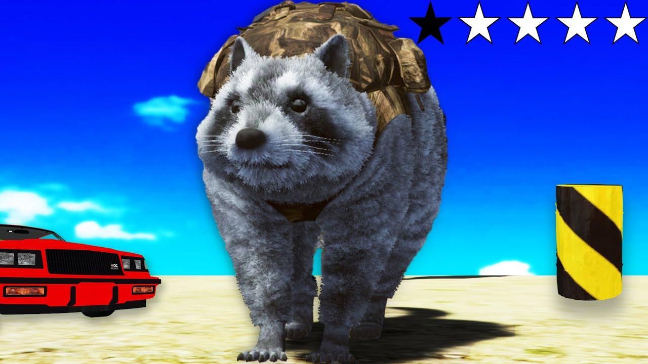 Grand Theft Raccoon