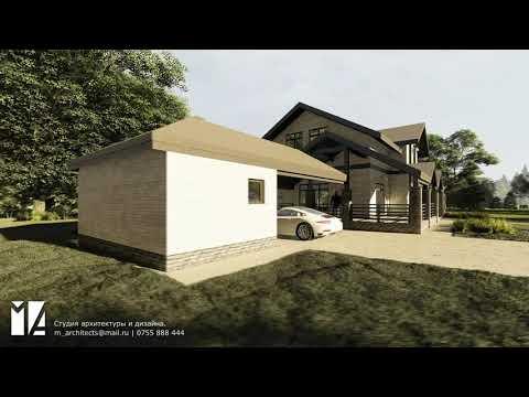 Жилой дом в стиле Шале 350м2