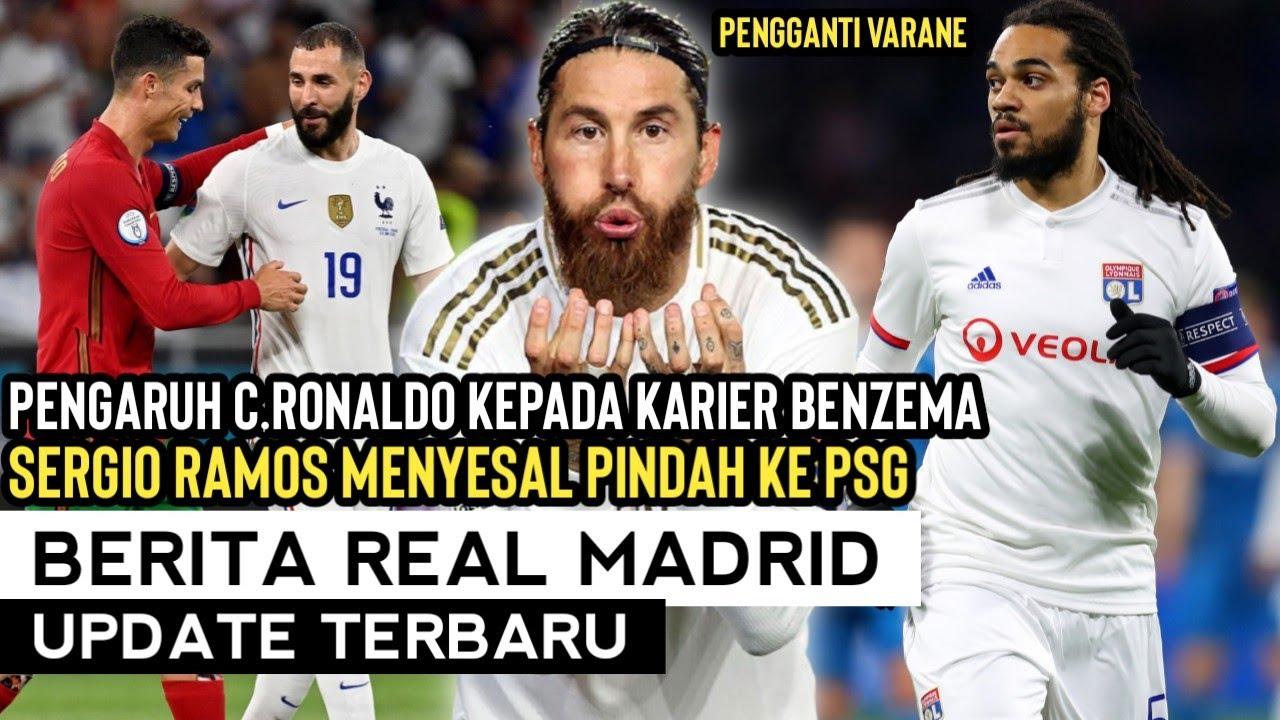 TERUNGKAP‼️Nasehat Ronaldo Untuk Benzema😍 Mimpi Buruk Ramos Setelah Ke PSG😱 Bidik Denayer🧐