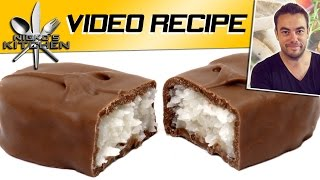 Bounty Chocolate Bars - Video Recipe