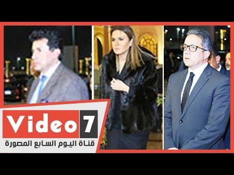 رئيس الحكومة وعدد من الوزراء والفنانين يقدمون العزاء فى نجل مايا مرسى  - 22:59-2020 / 1 / 15