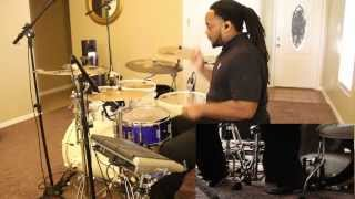 T- Pain ft. B.O.B - Up Down (Do This All Day) drum cover HD