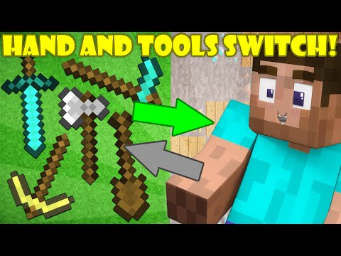 Thumbnail: If Your Hand and Tools Switched Places - Minecraft
