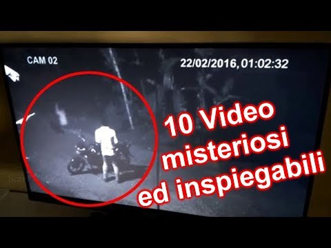 10 VIDEO MISTERIOSI ed INSPIEGABILI