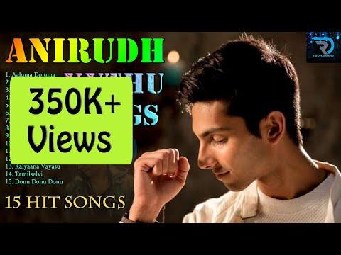 Anirudh  Jukebox  Kuthu Songs  Rap Songs  Tamil Hits  Tamil Songs  Non Stop