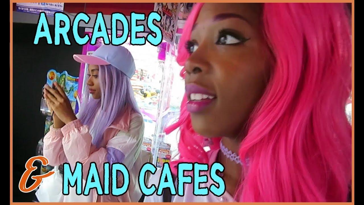 SEGA ARCADE & MAIDREAMIN MAID CAFE